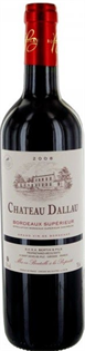 Chateau Dallau Bordeaux Superieur 2010...